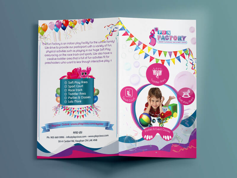 children bifold brochure
