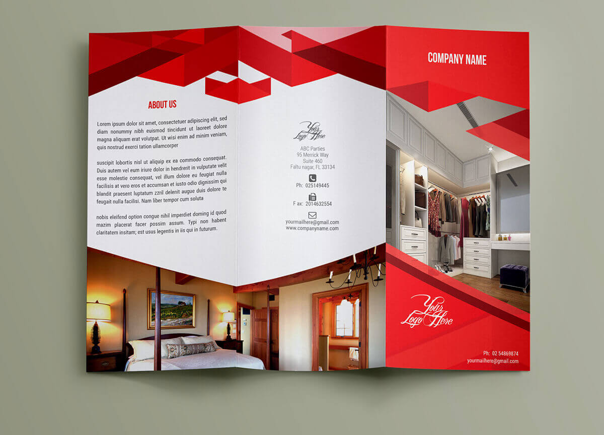 interior brochure outer page