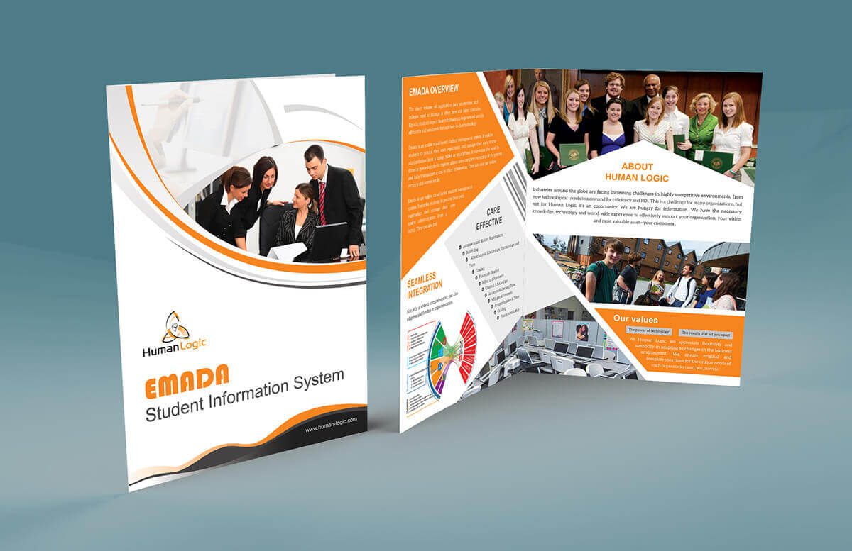 Bi Fold Brochure Design Templates